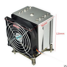 цена на R5-50 CPU cooler 9cm fan 5 heatpipe Fans Heatsink Radiator for intel LGA1155/1156
