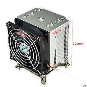 Image 1 - R5 50 CPU cooler 9cm fan 5 heatpipe Fans Heatsink Radiator for intel LGA1155/1156