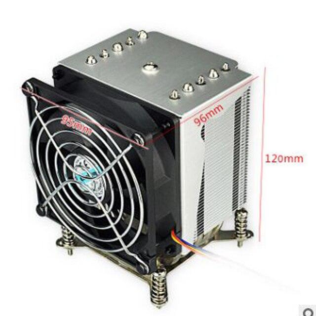 R5 50 CPU cooler 9cm fan 5 heatpipe Fans Heatsink Radiator for intel LGA1155/1156