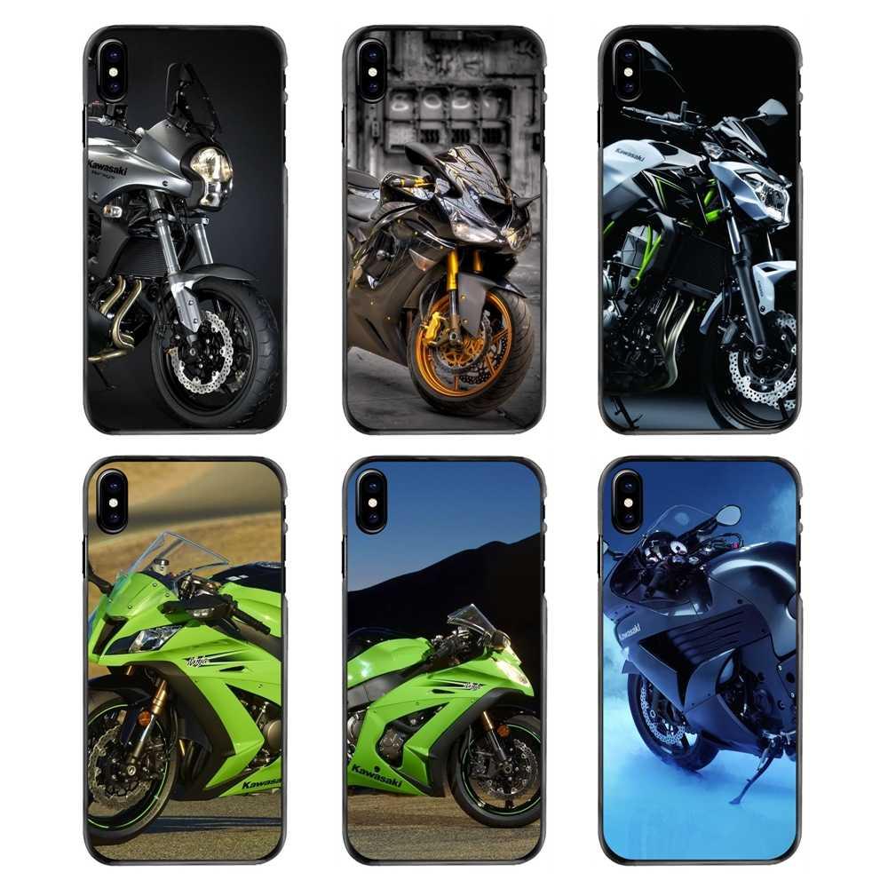 Samsung Galaxy A3 A5 A7 A8 J1 J2 J3 J5 J7 Prime 2015 2016 2017 Kawasaki Motosiklet Aksesuarları Telefon kabuk Kapak