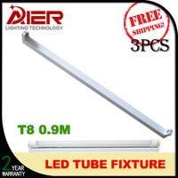 0 9M 3ft Led Tube Light Fixture For T8 Led Tube 3pcs Lot Free Shipping