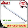 0.9M 3ft led tube light fixture for T8 led tube 3pcs/lot free shipping