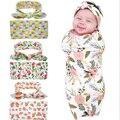 Hot Bebê Recém-nascido Fotografia Adereços Cobertor Flor Menina Infantil Arco Coelho Headband do Chapéu de Algodão Conjuntos De Pano Do Bebê Fotografia Wraps