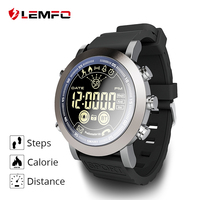 LEMFO LF23 Flagship Rugged Smartwatch 33 month Standby Time 24h All Weather Monitor Waterproof IP68 Smart Watch For IOS Android