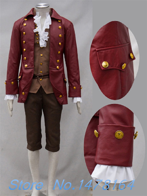 Movie Beauty and the Beast Gaston Cosplay Costume Burgundy Jacket Coat Men Outfit Pants Suit Halloween & Movie Beauty and the Beast Gaston Cosplay Costume Burgundy Jacket ...