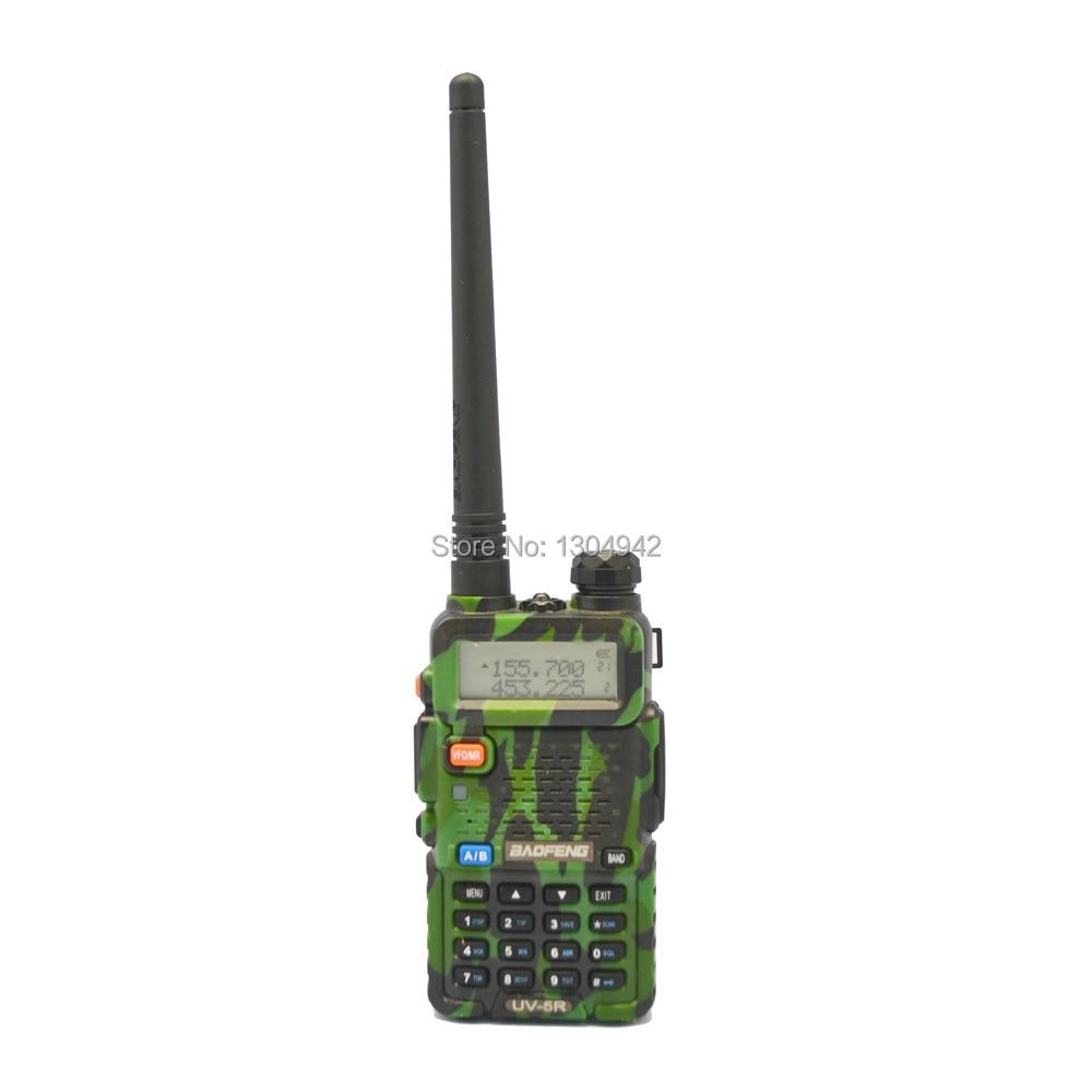 BAOFENG Walkie Talkie UV 5R Camouflage Ham Two Way Radio 136 174MHz 400 520 MHz With