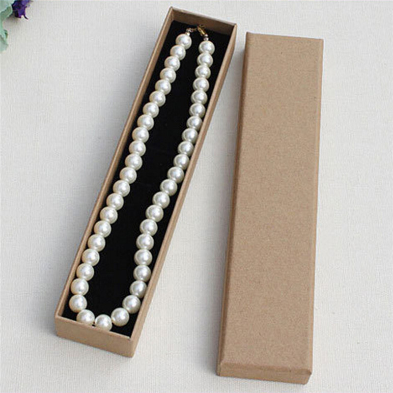 Coffee Paper Gift Box for Bangle Bracelet Earring Ring Necklace Fashion Gift Bag Jewelry packaging/NOT include Product