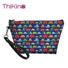 Thikin Car Airplane Makeup Bags for Women Girls Cosmetic Bag Travel Handbag Case Pouch Rock Storage Purse
