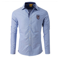 High Quality Men S Shirts 2015 Spring Autumn New Brand 100 Cotton Men S Business Casual