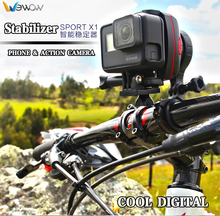 Professional Newest  Sport X1  1 axis Stabilizer for GoPro 3/3+/4 and Smart Phone Stabilizer Wearable Gimbal for Action Camera