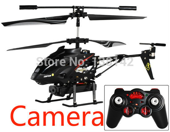 WLtoys S977 Drone 35CH Alloy Video Shooting RC Helicopter With Camera Original Box Free Shipping In Helicopters From Toys Hobbies On