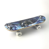 Double Sided Printing Children S Skateboard Skate Scooter Entertainment Skateboard A Lovely Child Gift 3 Colors