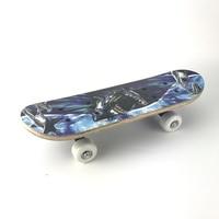 Double sided printing children's skateboard skate scooter entertainment skateboard a lovely child gift 3 colors