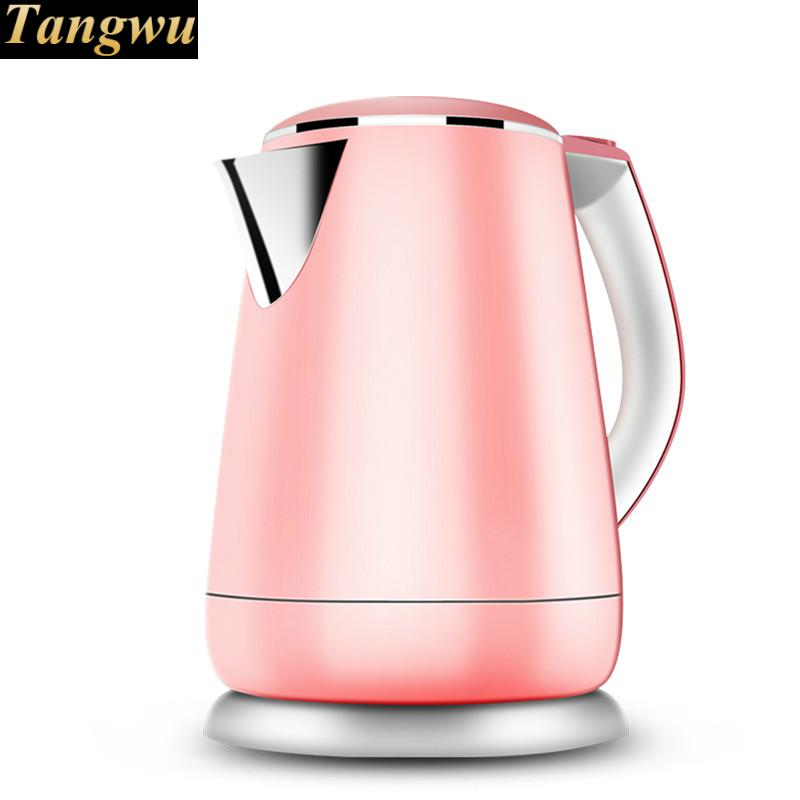 Electric kettle insulation and anti-hot stainless steel automatic water boiler electric kettle is used for automatic power failure and boiler stainless steel kettles