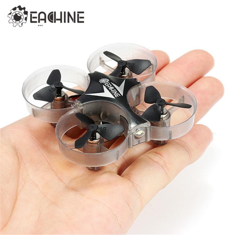 Hot Eachine E012 Mini 2,4g 4CH 6 Axis Headless modo luz LED RC Quadcopter RTF