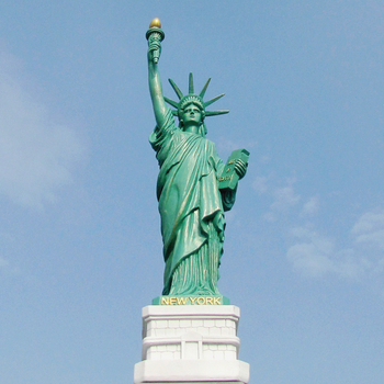 Large Size American Free Goddess Ornament Figure Hotel Study Office Home Furnishing Decoration Statue of Liberty Sculpture