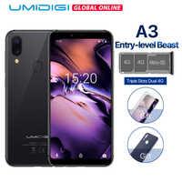 UMIDIGI A3 グローバルバンドデュアル 4 グラム 5.5