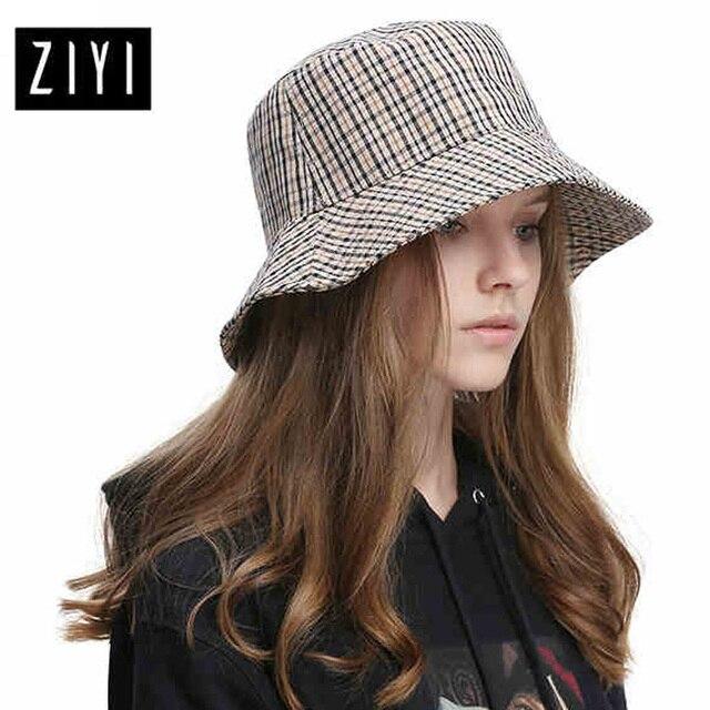 8c99cd25e0e High Quality Stripe Bucket Hats Girls Cap women s Fishing cap women summer fisherman  hat Bucket Cap Sun Protection Beach hat
