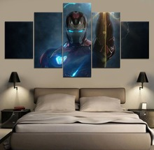 Avengers Endgame Movie Science Fiction Cartoon HD Print Painting Paintings on Canvas Wall Art for Home Decorations Artwork