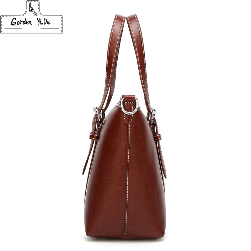 Women Bag Luxury Handbags Outlet Tote Shoulder Soft Leather High Capacity Vintage Designer Handbag Famous Brands In Bags From Luggage