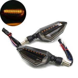 Image 1 - Evrensel motosiklet dönüş sinyali modül lamba ön arka Led Motor sinyal dönüş işık lambası Honda CBF600/SA NC700 S /X VTX1300