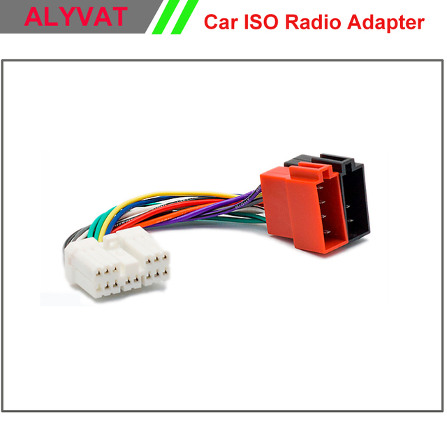 car iso stereo wiring harness for subaru forester 1997 impreza vivio legacy  outback adapter connector auto adaptor plug