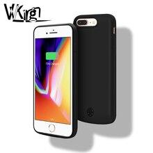 Чехол для аккумулятора VVKing 5000 мАч/7200 мАч для iphone 6 6s Plus, чехол 1A, чехол для быстрой зарядки для iphone X XS 7 8 Plus, чехол для внешнего аккумулятора