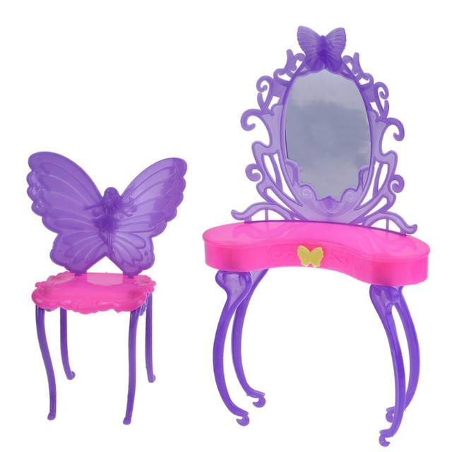 Cute Butterfly Dressing Table For Doll House
