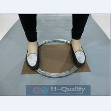Одноцветное Нержавеющая сталь lazy susan проигрыватели поворотные пластины Кухонная мебель из наружный диаметр 400 мм (16 дюймов) тяжелые нагрузки и гладкой
