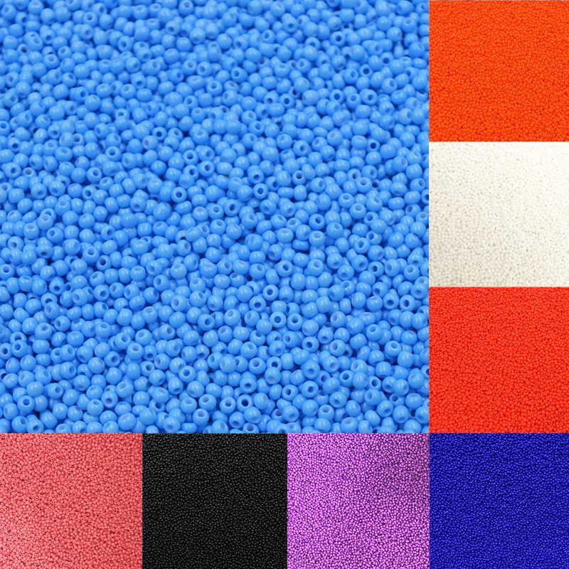 แฟชั่น 1000 pcs ร้อนคุณภาพสูงสีสันสดใส DIY เครื่องประดับลูกปัดเครื่องประดับสร้อยคอสร้อยข้อมือลูกปัด