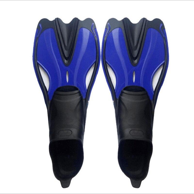 Adultes palmes de plongée en apnée plein pied longues palmes de natation flexibles confortables palmes de plongée pour Sports nautiques hommes femmes