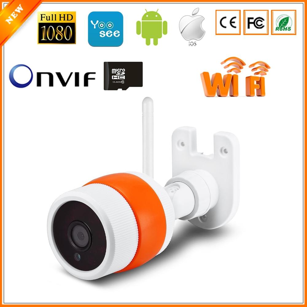 bilder für BESDER Max 64 Gb SD Card Slot Wifi IR Nacht kugel Drahtlose/Verdrahtete ONVIF P2P FULL HD 1080 P 2MP 25fps Überwachungskamera IP
