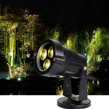Colorful 85-265V 3W Floodlight Lawn Lamp LED Spotlight IP65 Outdoor Garden Waterproof Spot Light Landscape Lighting