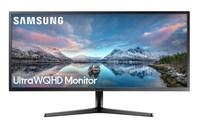 Samsung LS34J550WQU, 86,6 см (34,1 ), 3440x1440 пикселей, 4 K Ultra HD светодиодный, 4 MS, черный