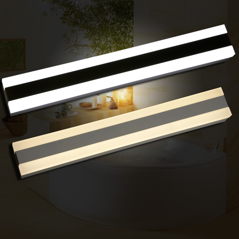 15W 18W mirror lights Modern makeup dressing room bathroom led mirror light fixture home decoration lighting wall lamp mirror