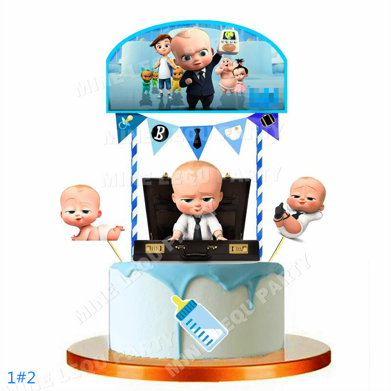 Us 6 88 New Style Baby Cake Topper Kids Birthday Party Decoration Cake Topper Party Decoration Baptism Decorations In Party Diy Decorations From