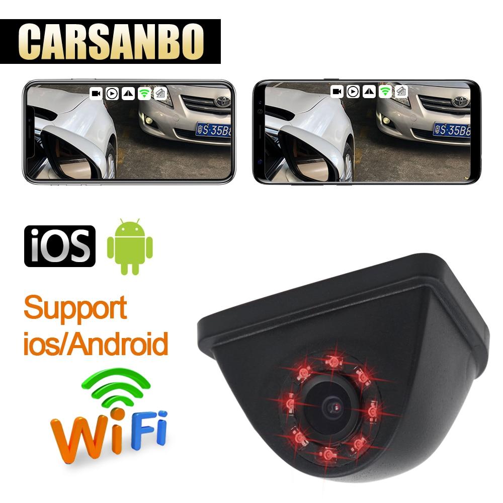 Date Véhicule Droit blind spot système caméra wifi vue de côté 720 P caméra HD Étanche vision nocturne avec 150 H degré grand angle