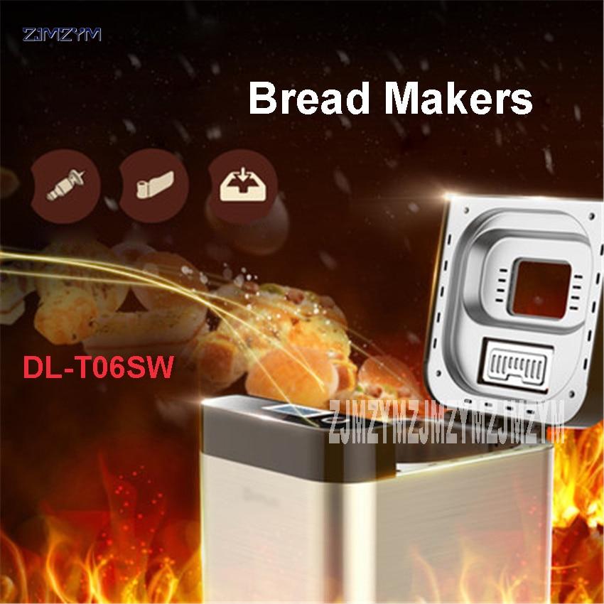 Home DL-T06SW stainless steel Cloud-WIFI Intelligent bread machine bread baking machine 1.5 lbs Capacity with 26 large menuHome DL-T06SW stainless steel Cloud-WIFI Intelligent bread machine bread baking machine 1.5 lbs Capacity with 26 large menu