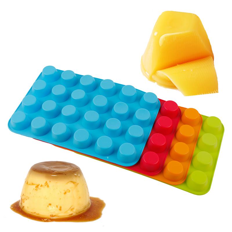 muffin silicone mold