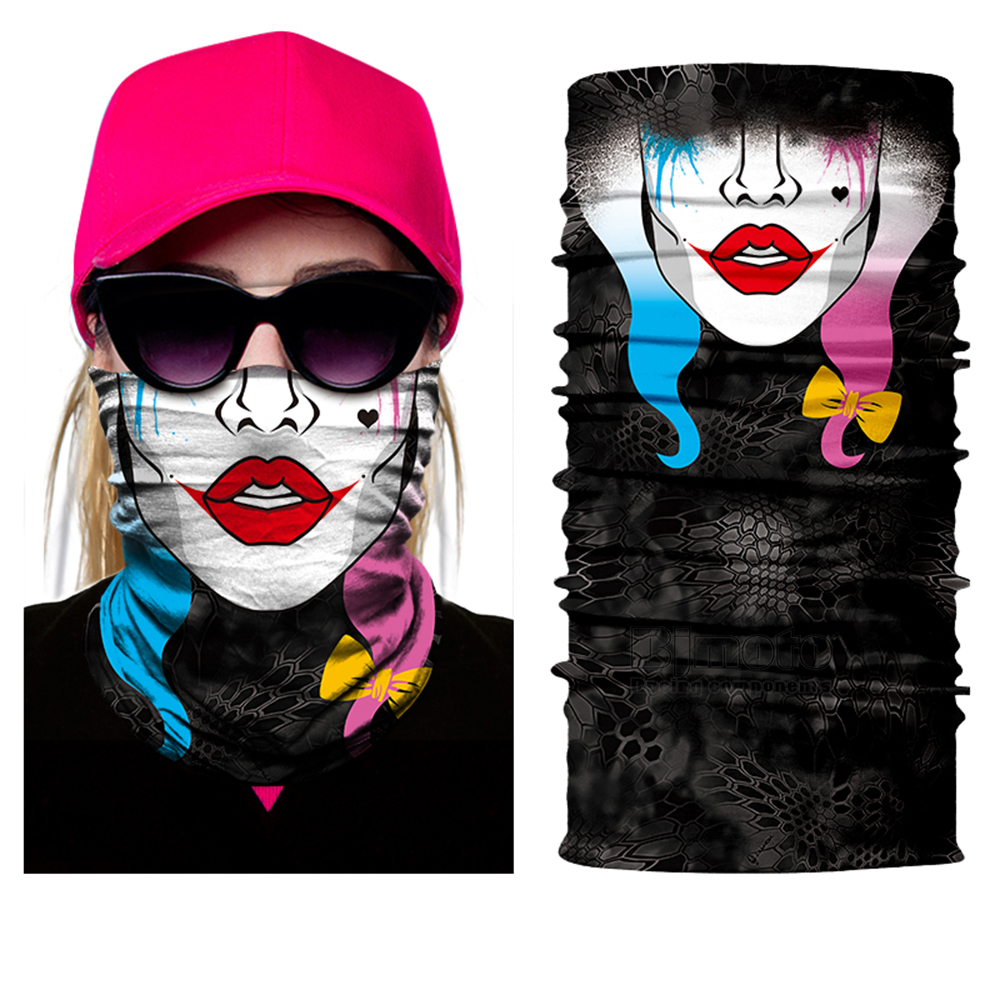 Hot Scarves Skull mask Wicking Seamless Washouts Scarf Fashion Outdoor Ride Bandanas Sport Face mask Motorcycle
