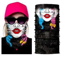 Hot Scarves Skull mask Wicking Seamless Washouts Scarf Fashion Outdoor Ride Bandanas Sport Face mask Motorcycle bike Scarf