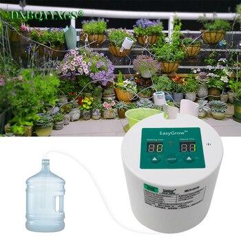 ذكي حديقة التلقائي سقي جهاز العصارة النباتية بالتنقيط الري أداة المياه مضخة الموقت نظام تحكم قوس تقطير