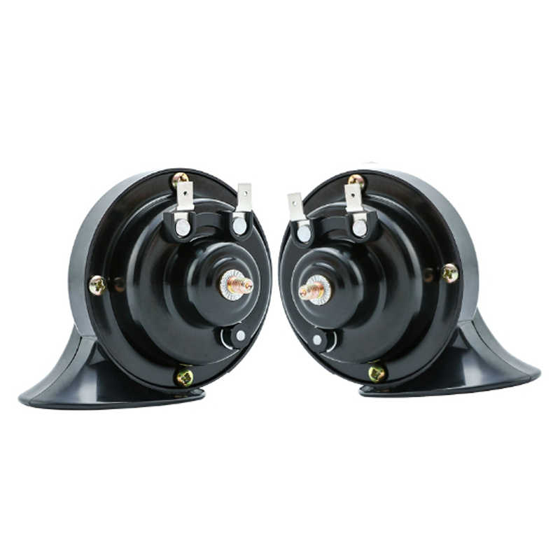 12V Waterproof Car Horn Universal Snail air horn High And Low Pressure Horn Speaker 130db for car motorcycle truck