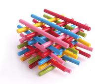 Colorful Bamboo Counting Sticks 100 Pcs Set
