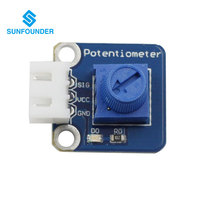 Electronic DIY Potentiometer Module For Arduino 3 Pin Anti Reverse Cable