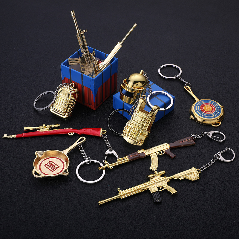Weapon Keychains (32)
