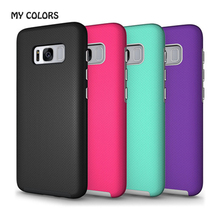 For Samsung Galaxy S8/S8 Plus Non-slip Phone Cover Case Anti Slip Soft Silicone Case Shockroof Business Phone Cover Back Shell