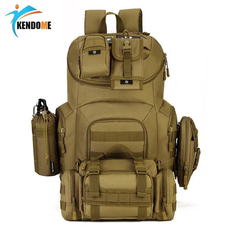 Sac à dos tactique militaire de haute qualité 40L Molle sac d'assaut étanche sac à dos militaire Mochila sac de chasse de randonnée en plein air