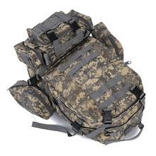 Hot 50 L 3 Day Assault Outdoor Military Rucksacks Backpack Camping bag AUC Camouflage