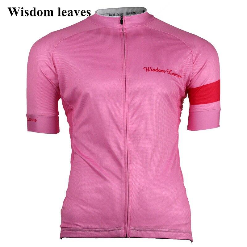Wisdom Leaves 2019 Women cycling jersey t shirt roupa Women bike maillot ciclismo equipos Team cycling